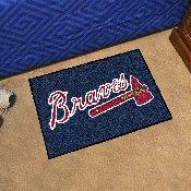 MLB - Atlanta Braves Starter Rug 19x30
