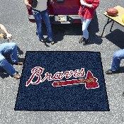 MLB - Atlanta Braves Tailgater Rug 5'x6'