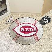 MLB - Cincinnati Reds Baseball Mat 27 diameter