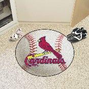 MLB - St. Louis Cardinals Baseball Mat 27 diameter