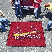 MLB - St. Louis Cardinals Tailgater Rug 5'x6'