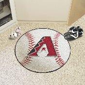 MLB - Arizona Diamondbacks Baseball Mat 27 diameter