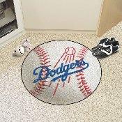 MLB - Los Angeles Dodgers Baseball Mat 27 diameter