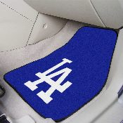 MLB - Los Angeles Dodgers 2-piece Carpeted Car Mats 17x27