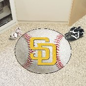 MLB - San Diego Padres Baseball Mat 27 diameter