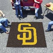 MLB - San Diego Padres Tailgater Rug 5'x6'