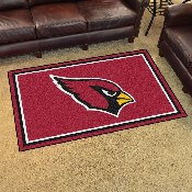 NFL - Arizona Cardinals 4'x6' Rug