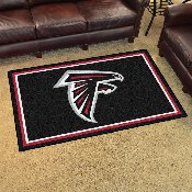 NFL - Atlanta Falcons 4'x6' Rug