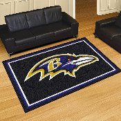 NFL - Baltimore Ravens 5'x8' Rug