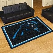 NFL - Carolina Panthers 5'x8' Rug