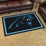NFL - Carolina Panthers 4'x6' Rug
