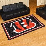 NFL - Cincinnati Bengals 5'x8' Rug