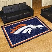 NFL - Denver Broncos 5'x8' Rug