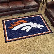 NFL - Denver Broncos 4'x6' Rug