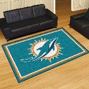 NFL - Miami Dolphins 5'x8' Rug