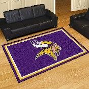 NFL - Minnesota Vikings 5'x8' Rug