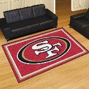NFL - San Francisco 49ers 5'x8' Rug