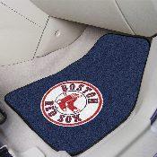 MLB - Boston Red Sox 2-piece Carpeted Car Mats 17 x 27