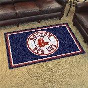 MLB - Boston Red Sox Rug 4'x6'