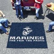Marines Tailgater Rug 5'x6'