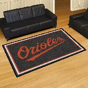 MLB - Baltimore Orioles Rug 5'x8'