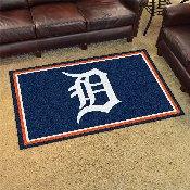 MLB - Detroit Tigers Rug 4'x6'