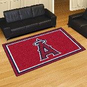 MLB - Los Angeles Angels Rug 5'x8'