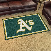 MLB - Oakland Athletics Rug 4'x6'