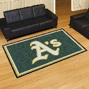 MLB - Oakland Athletics Rug 5'x8'