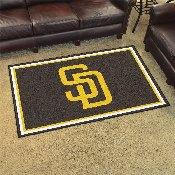 MLB - San Diego Padres Rug 4'x6'