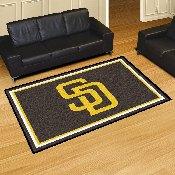 MLB - San Diego Padres Rug 5'x8'
