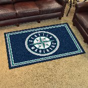 MLB - Seattle Mariners Rug 4'x6'