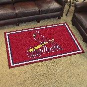 MLB - St. Louis Cardinals Rug 4'x6'