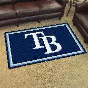MLB - Tampa Bay Rays Rug 4'x6'