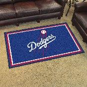 MLB - Los Angeles Dodgers Rug 4'x6'