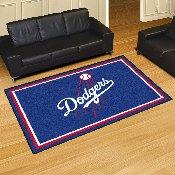 MLB - Los Angeles Dodgers Rug 5'x8'
