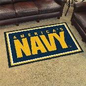 Navy Rug 4'x6'