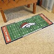 NFL - Denver Broncos Runner 30x72
