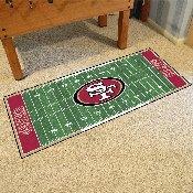 NFL - San Francisco 49ers Runner 30x72