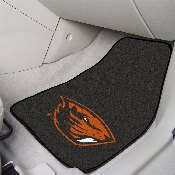 Oregon State 2-pc Carpeted Car Mats 17x27
