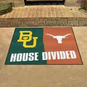 Baylor - Texas House Divided Rugs 33.75x42.5