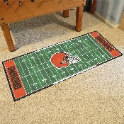 NFL - Cleveland Browns Runner 30x72
