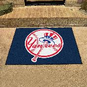 MLB - New York Yankees Alternate Logo All-Star Mat 33.75x42.5