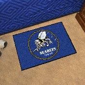 Navy Seabees Starter Rug 19x30
