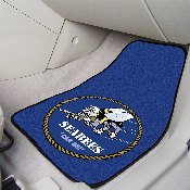 Navy Seabees 2-piece Carpeted Car Mats 17x27