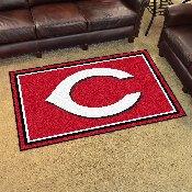 MLB - Cincinnati Reds Rug 4'x6'