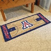 Arizona Basketball Court Runner 30x72