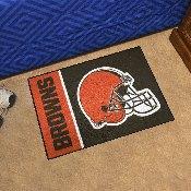 NFL - Cleveland Browns Uniform Inspired Starter Rug 19x30