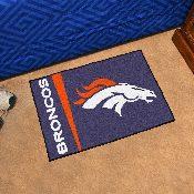 NFL - Denver Broncos Uniform Inspired Starter Rug 19x30