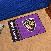 NFL - Baltimore Ravens Uniform Inspired Starter Rug 19x30